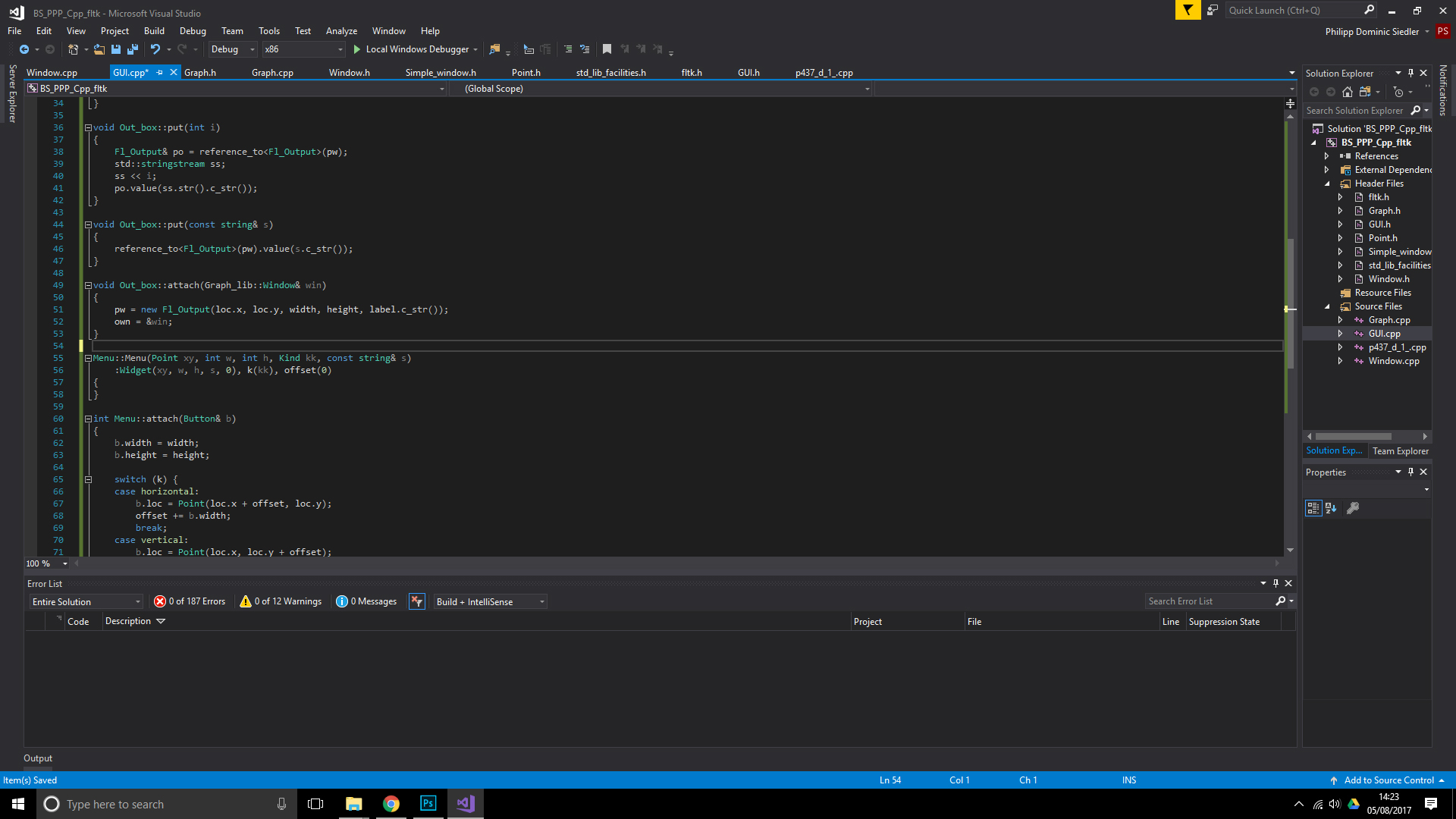 How To Install And Use Fltk 1 3 4 In Visual Studio 2017 Complete Guide Bumpyroadtocode